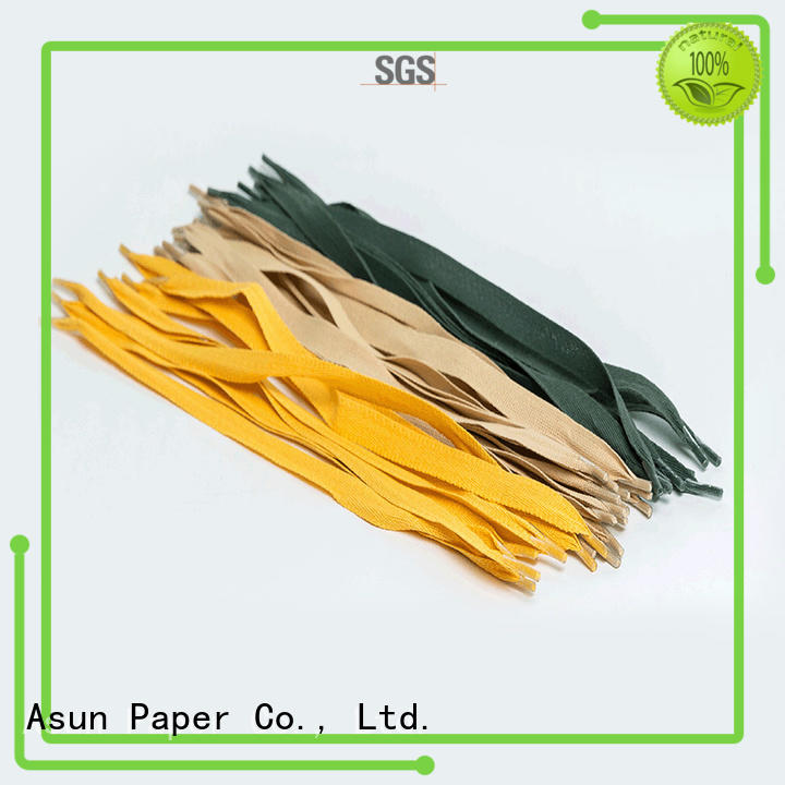 Asun paper rope gift bag handles series for shop