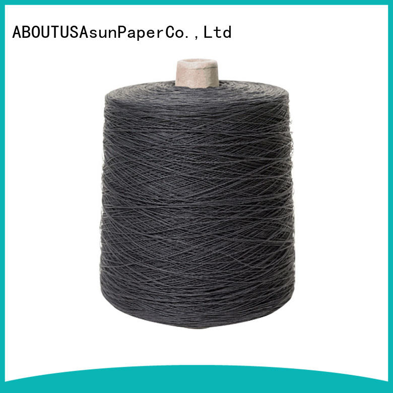 Asun paper rope customized newspaper yarn inquire now for textile material