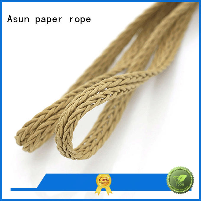 Asun paper rope braided twine wholesale for garment accessories