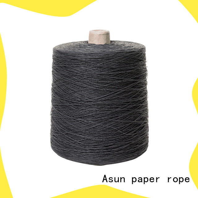 Asun paper rope paper yarn design for accessories