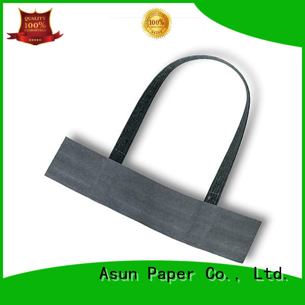 Asun paper rope flat paper handle directly sale for house