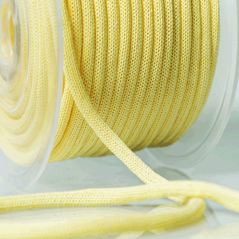 Environmental hollow or core  woven paper cord