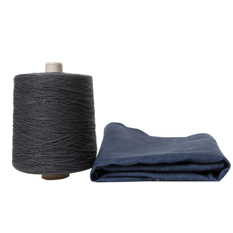 Black paper yarn for custom made dress shirts