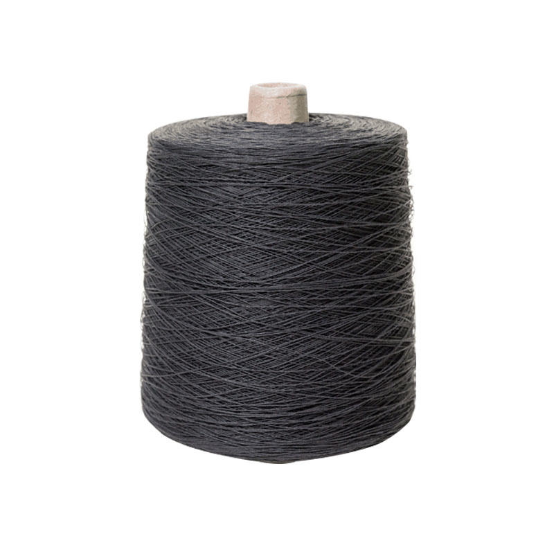 Black paper yarn for custom made dress shirts