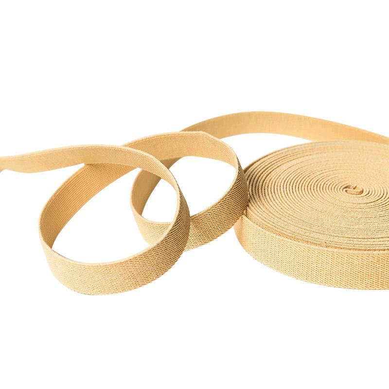 Environmental Braided paper webbing , paper ribbon