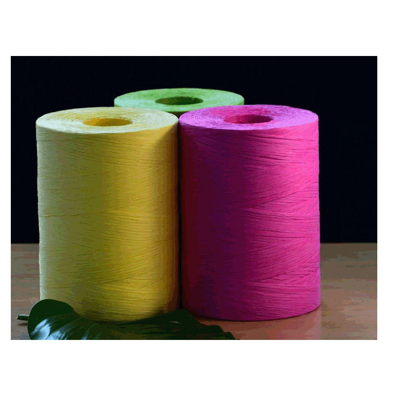 Environmental paper raffia for paper clothing tags