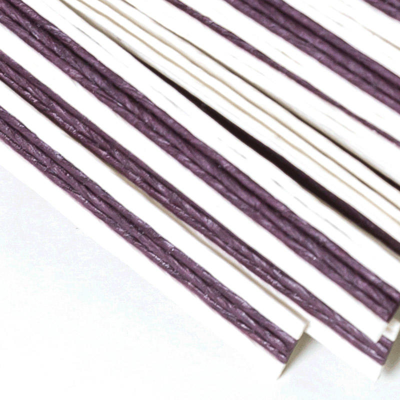 Asun paper rope color paper stripe supplier for candle core