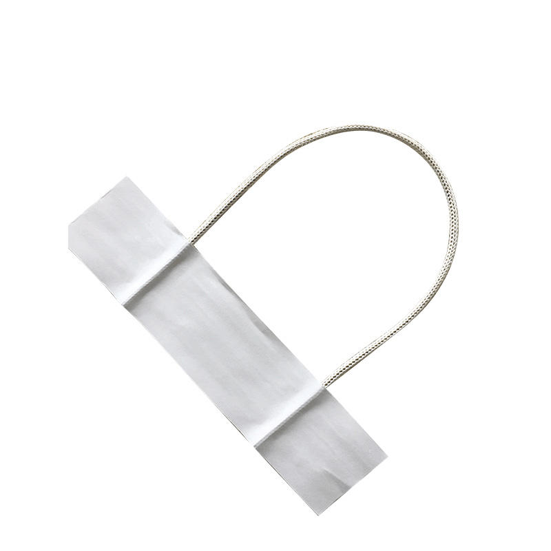White color paperhandle for fashion bags