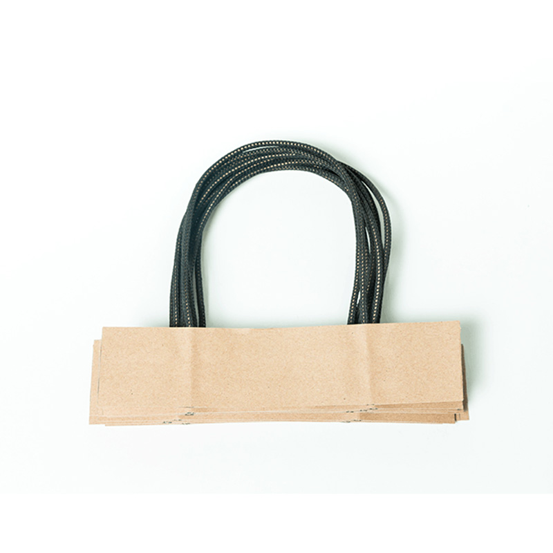 Asun paper rope integrated bag handles series for shop-5