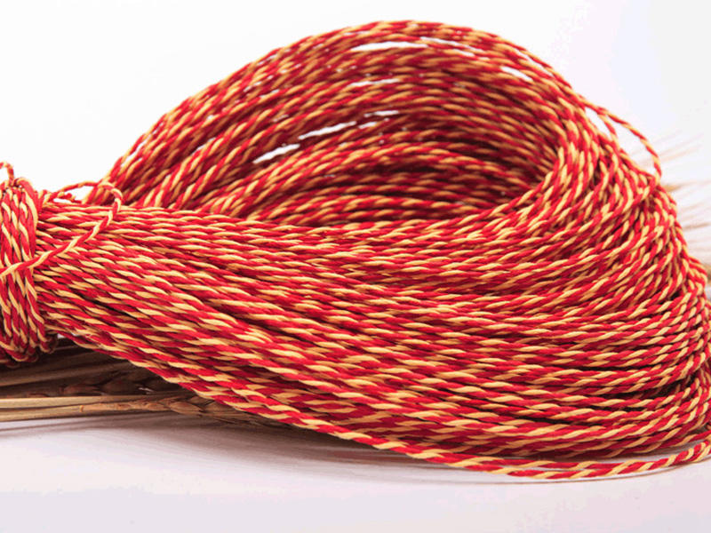 knitted twine rope factory price for indoor