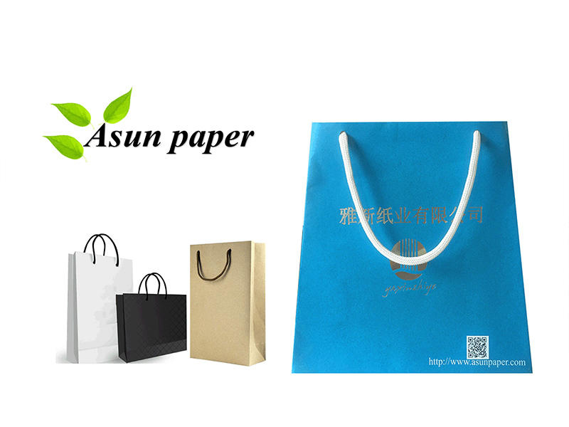 Multi-functional paper rope for the packaging industry
