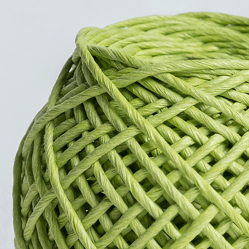 knitted paper cord wholesale for craftwork gifts-2
