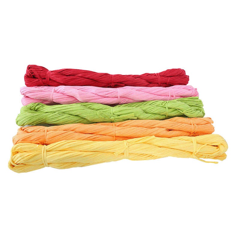 Asun paper rope professional raffia ribbon from China for DIY-1