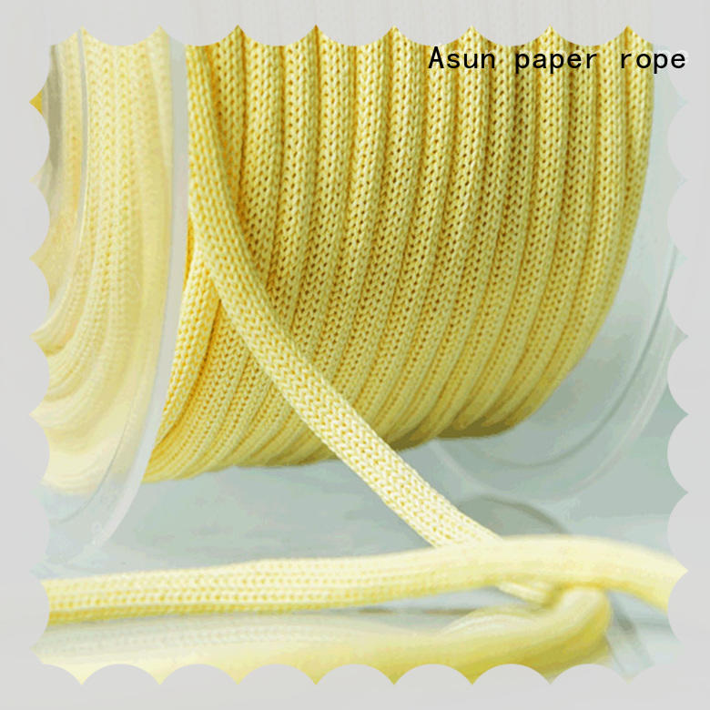 Asun paper rope woven paper rope ribbon directly sale for pendant light