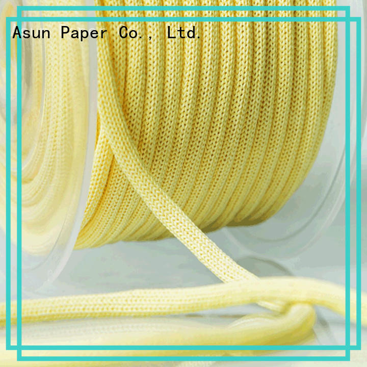 Asun paper rope hollow cord paper manufacturer for shoes
