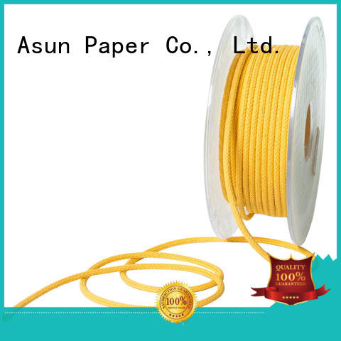 Quality Asun paper rope Brand twisted paper twine wood