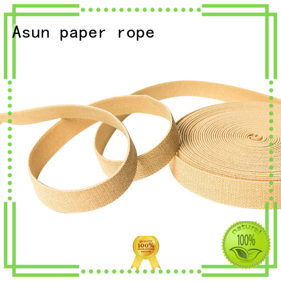 Asun paper rope braided wide paper ribbon wholesale home textile