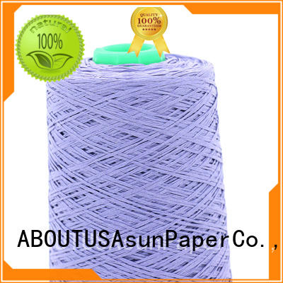 Asun paper rope newspaper yarn inquire now for accessories