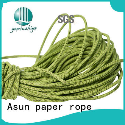 comfortable cord paper multifunctional Asun paper rope company