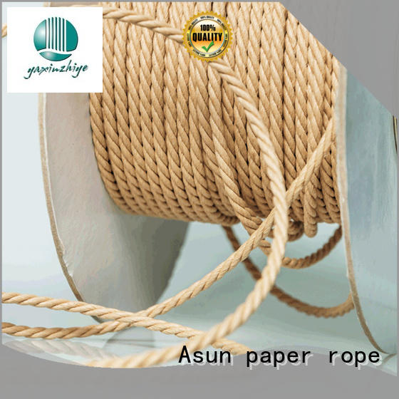 hollow twine rope wholesale for craftwork gifts