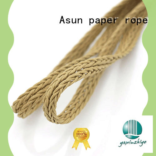 braided code for garment accessories Asun paper rope