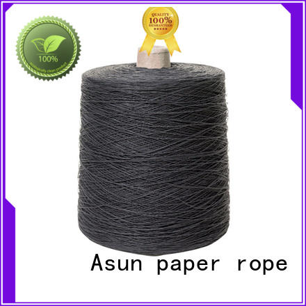 Asun paper rope newspaper yarn with good price for shirts