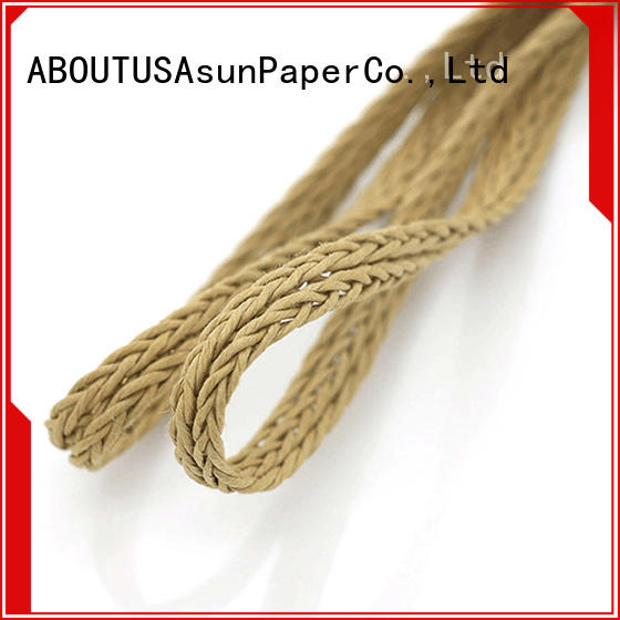Asun paper rope braided twine wholesale for home textile