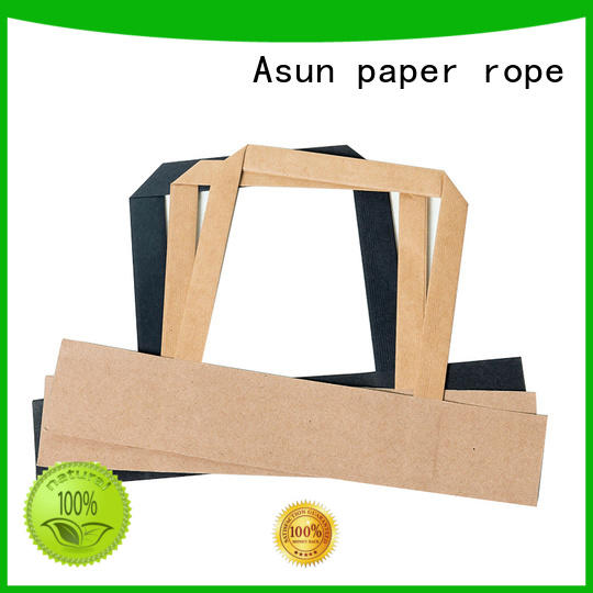 Asun paper rope woven gift bag handles directly sale for indoor