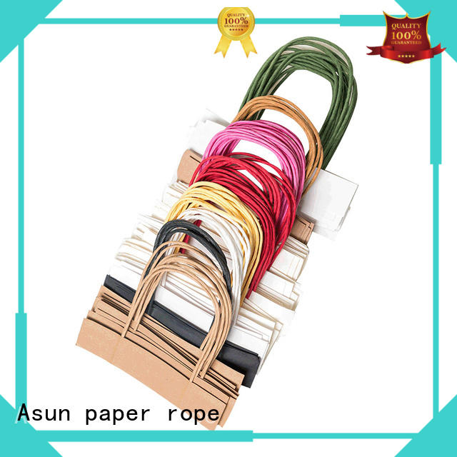 gift bag handles for house Asun paper rope