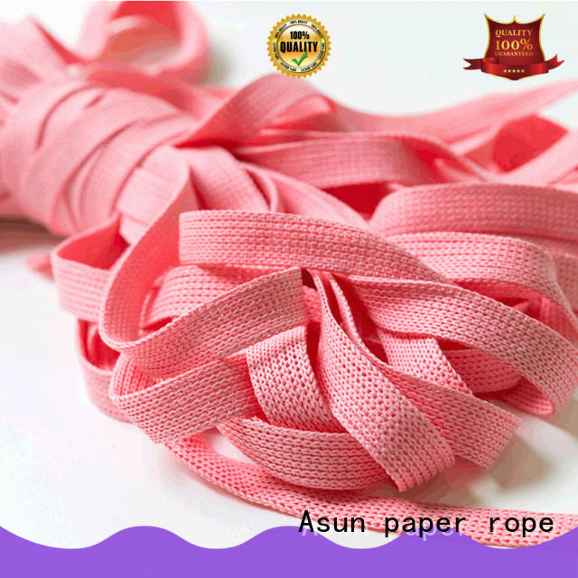 hollow paper rope ribbon series for indoor