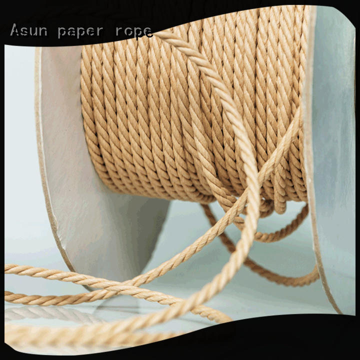Asun paper rope multifunctional paper cord factory price for indoor