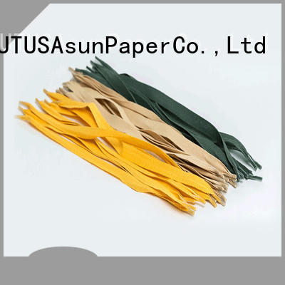 Asun paper rope grocery bag handle from China for indoor