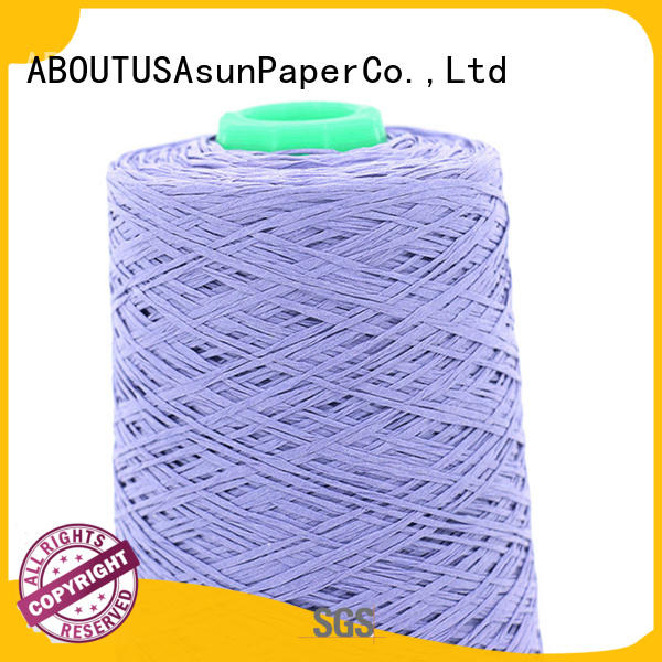 Asun paper rope online paper yarn for sale customized socks