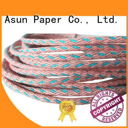 environmental brown twisted paper cord cord led lamp