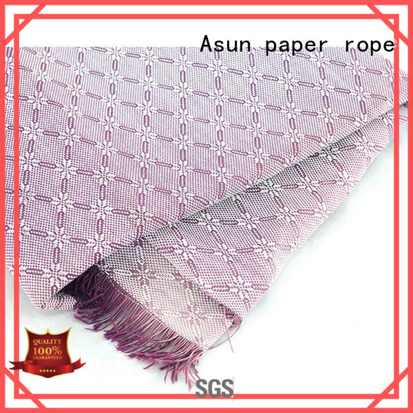 Asun paper rope paper cloth with good price for garment accessories home for furnishing printing &packaging for craftwork
