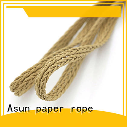 Asun paper rope pure braided twine wholesale for garment accessories