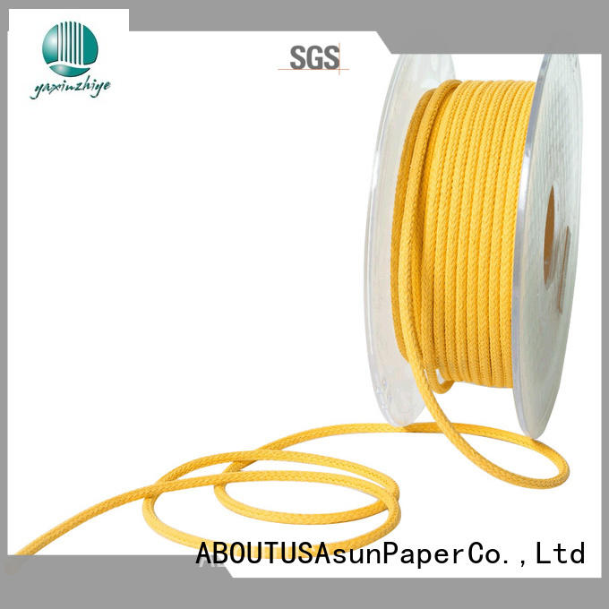 pure paper twine factory price for pendant light