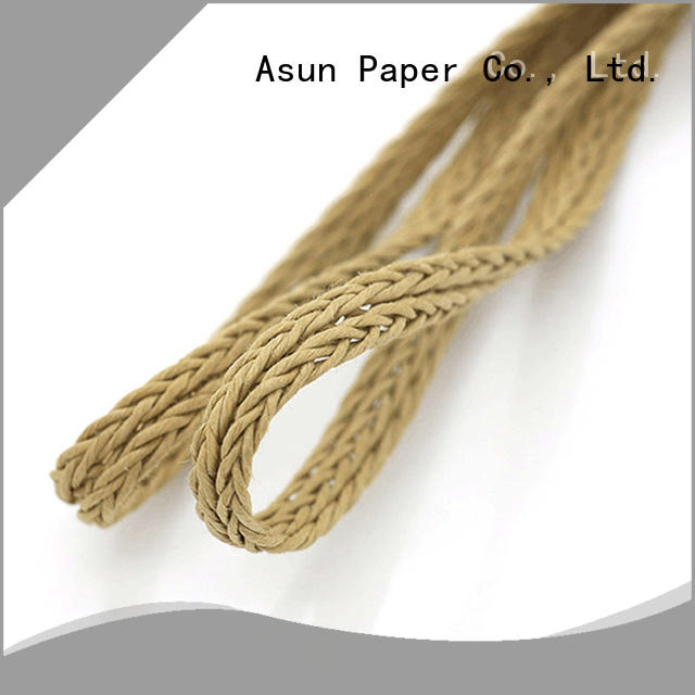 Asun paper rope braided code personalized for shoes