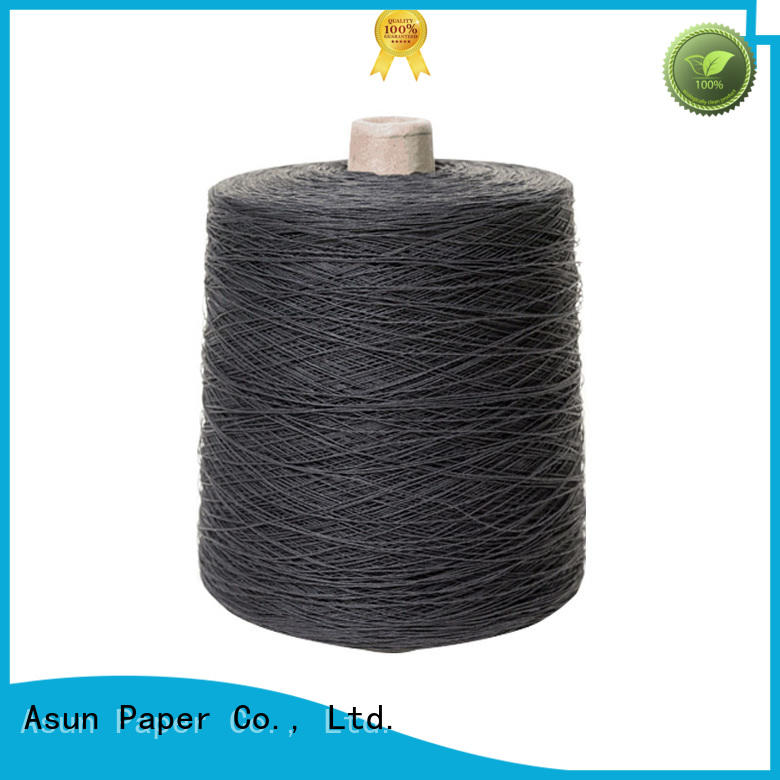 Asun paper rope paper yarn factory for casement cloth
