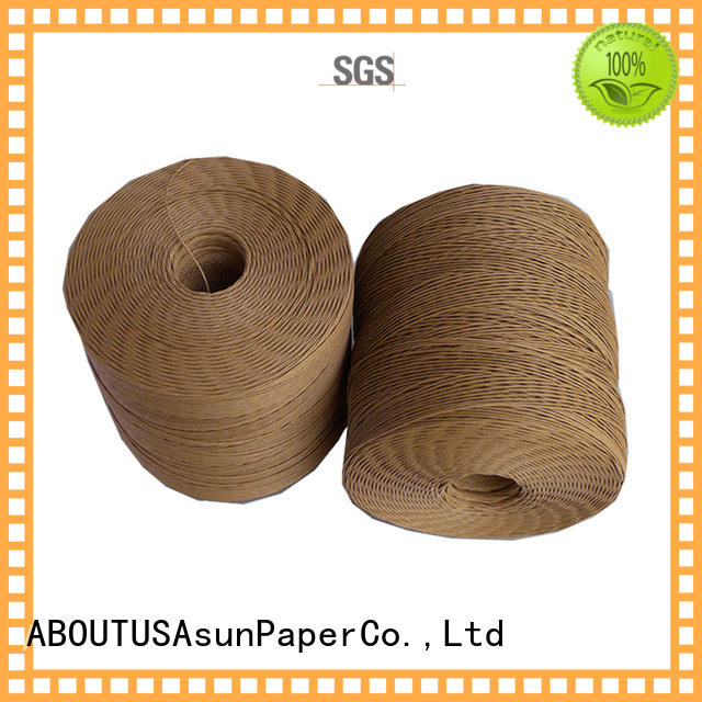 Asun paper rope twine rope personalized for home textile
