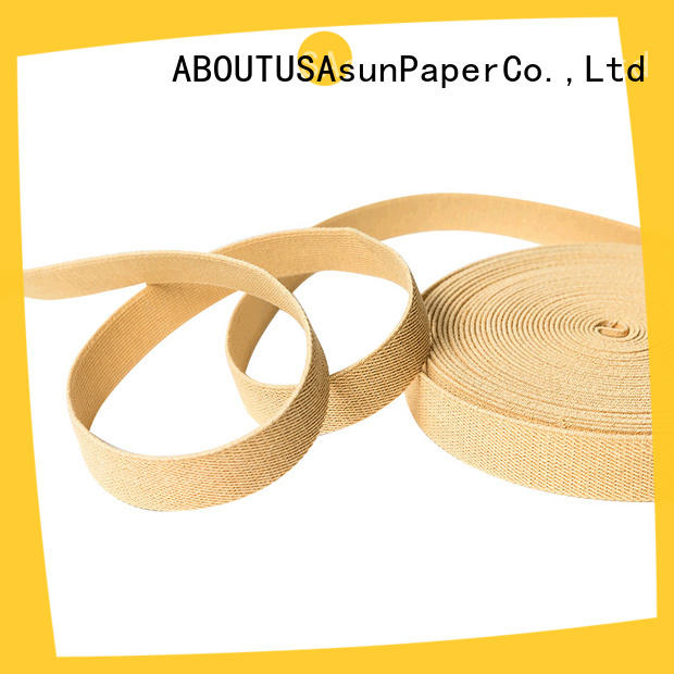 Asun paper rope professional paper ribbon series for shoes
