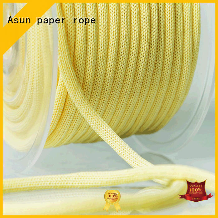 Asun paper rope cord paper manufacturer for pendant light