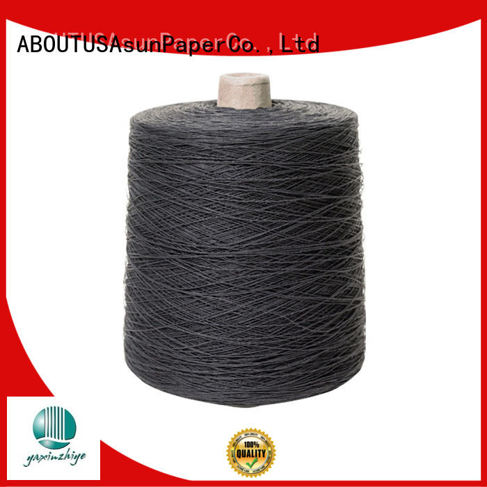 online paper yarn with good price for textile material
