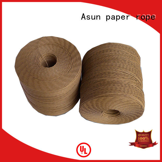 twist strand single paper rope handles Asun paper rope Brand