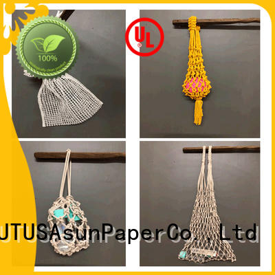 paper string bag design for house Asun paper rope