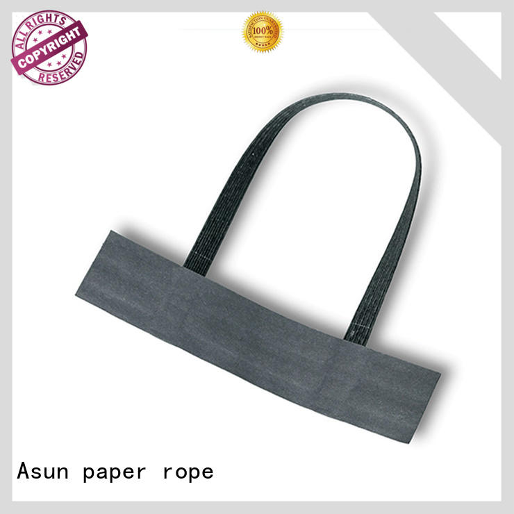 Paper handle made from paper machine
