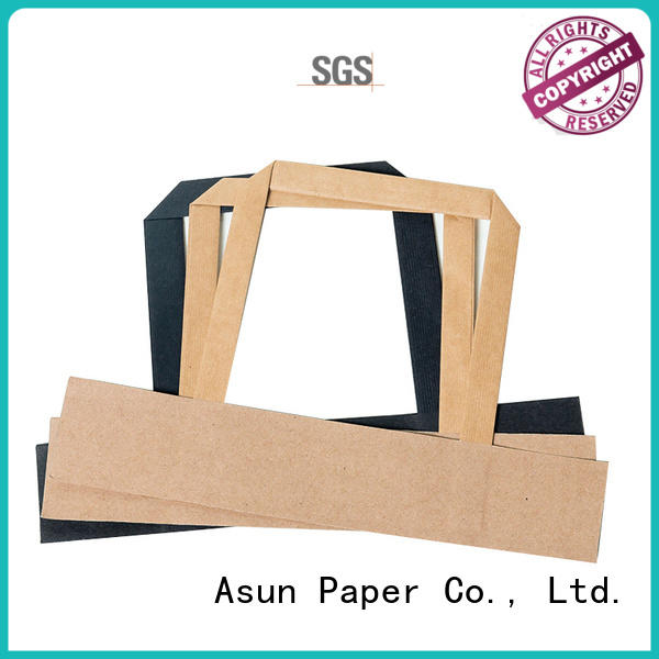 Quality Asun paper rope Brand paper bag handle rope woven gift