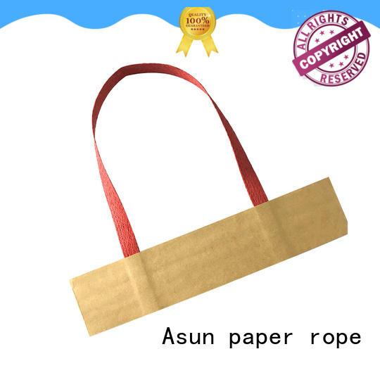 Asun paper rope grocery bag handle directly sale for shop