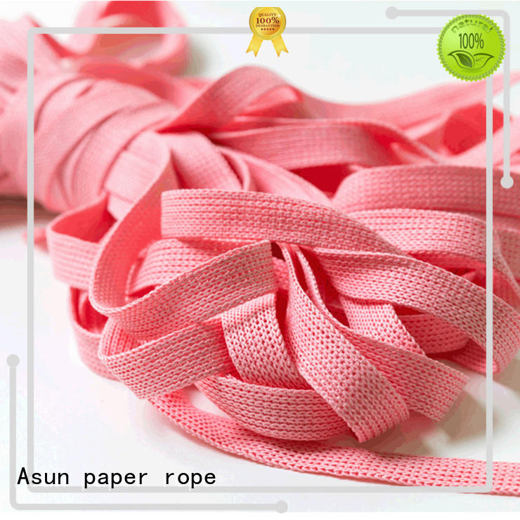 Asun paper rope knitted paper rope ribbon series for pendant light