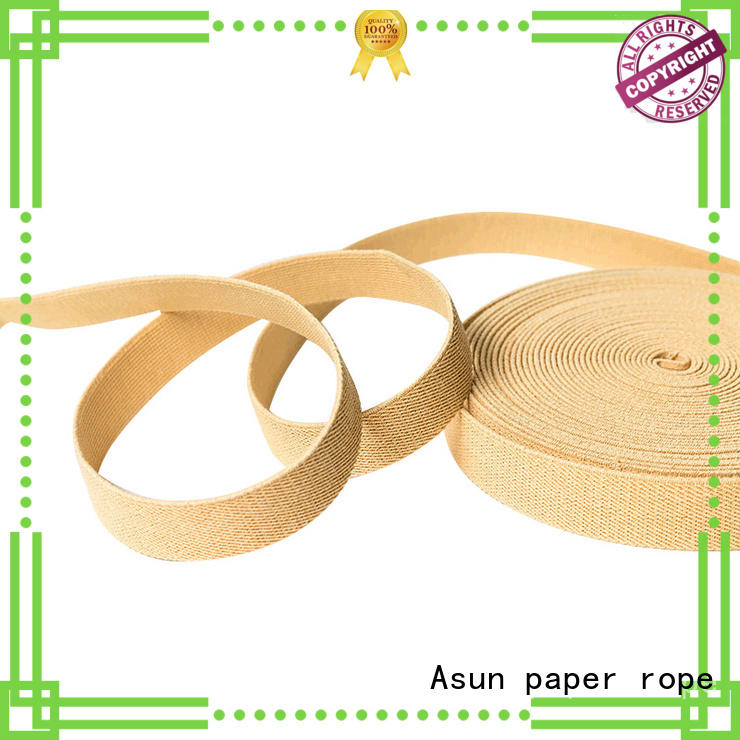paper ribbon roll braided home textile Asun paper rope